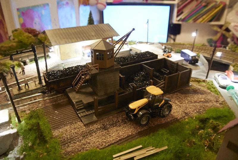Skladišče – nakladalnik premoga