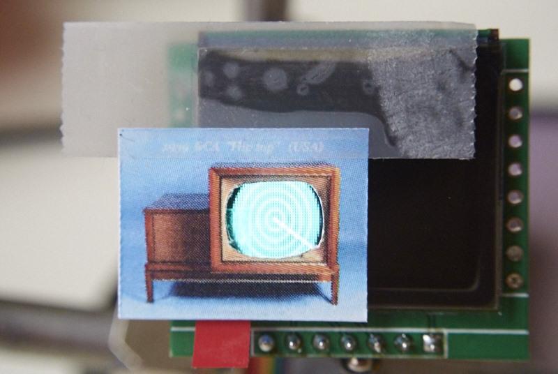 Uporaba OLED ekranov za animacije pri modelnih železnicah