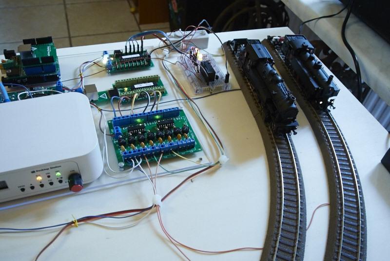 Priprava elektronike za sejem v Ljubljani
