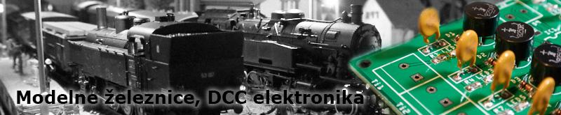 Modelne železnice, DCC elektronika