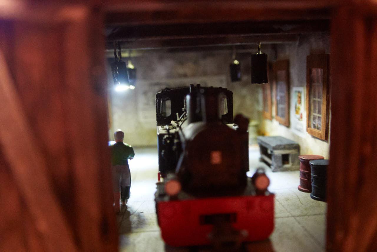 Delavnica za popravilo lokomotiv za modulno H0e maketo – 5. del