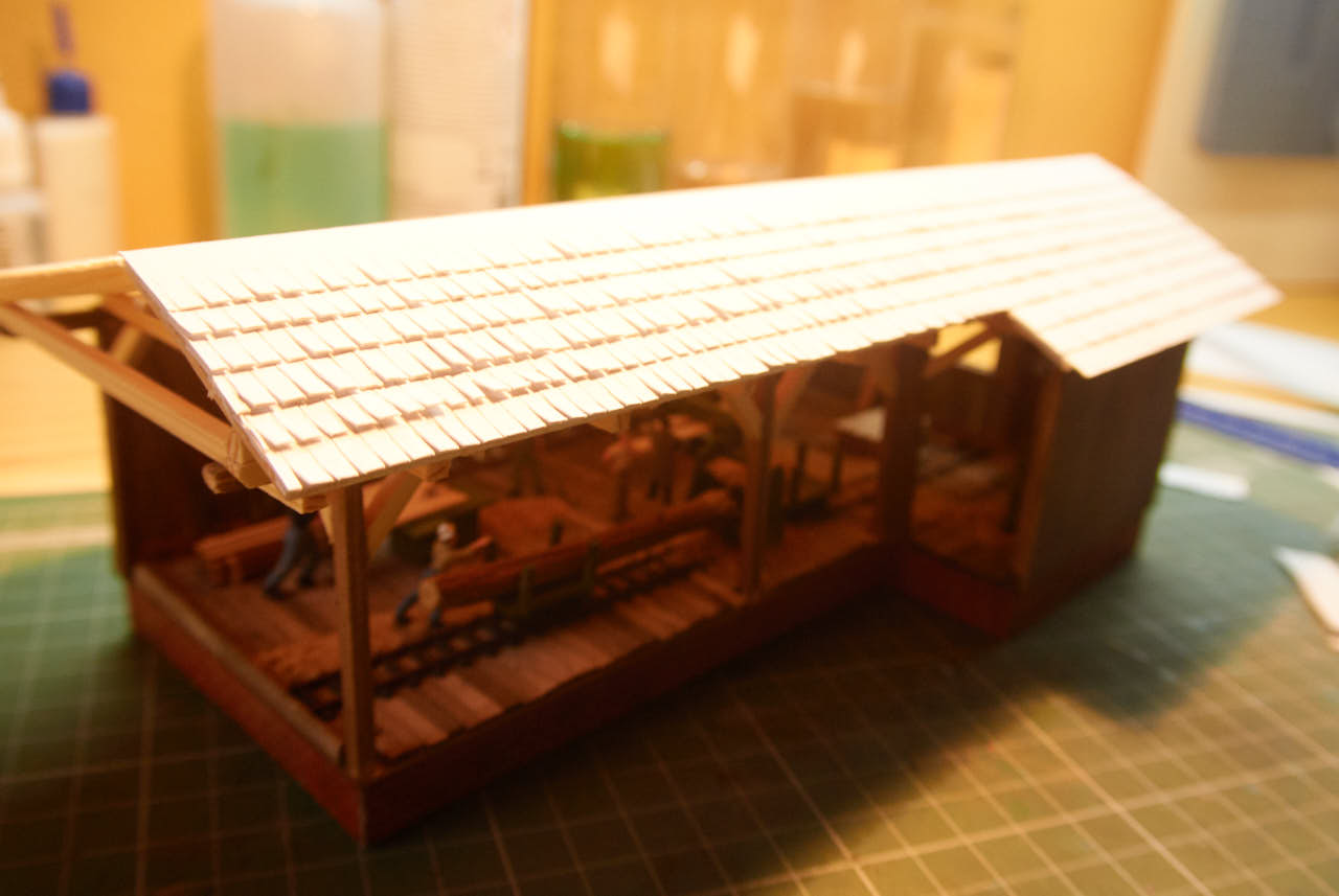 Izdelava žage za maketo – 4. del
